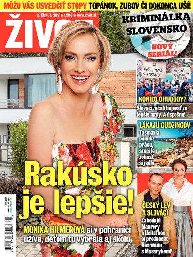 Casopis zivot v rakusku je lepsie Zuzana Ondrisova